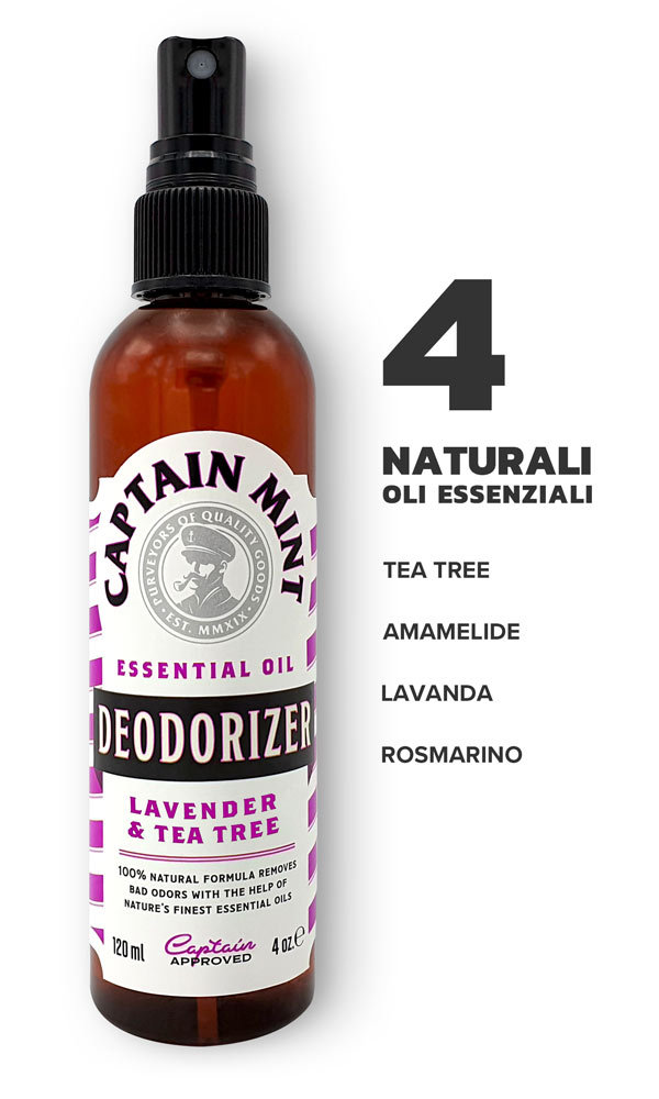 Captain Mint Lavanda Tea tree